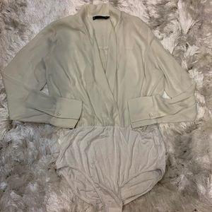 White classic Bodysuit